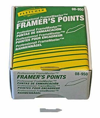 FLETCHER TERRY FRAMERS POINTS 16mm x 3000 RIGID 08-950 PICTURE FRAME CANVAS