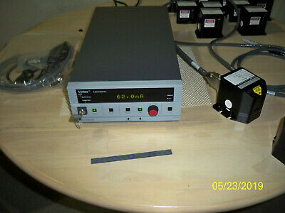 New Focus TLB 7000 Vortex 633nm Laser with key, cables and 6000 controller
