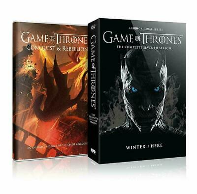 Game of Thrones Complete Seventh 7th Season (DVD, 2017, 5-Disc Set) Like New