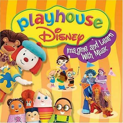 Playhouse Disney: Imagine & Learn With Music by Playhouse Greatest