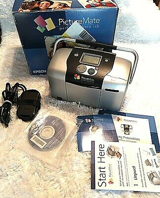 Epson Picture Mate Personal Photo Lab Home Picture Printer Model B271A