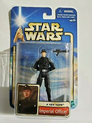 """Star Wars A New Hope (ANH) Imperial Officer 3.75"""" Figure 02-55"""