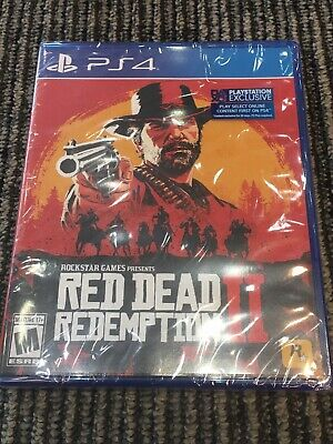 Red Dead Redemption 2 PS4 Playstation 4 Brand  New!