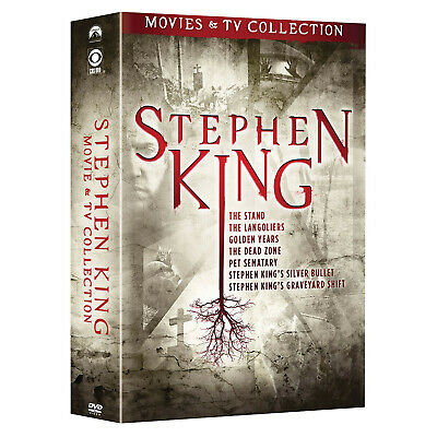 Stephen King TV and Film Collection - 9 Disc Boxed Set  - DVD Region 1