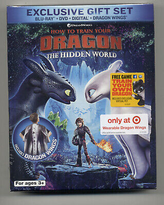How to Train Your Dragon: The Hidden World Blu-ray/DVD/Digital, Target Exclusive