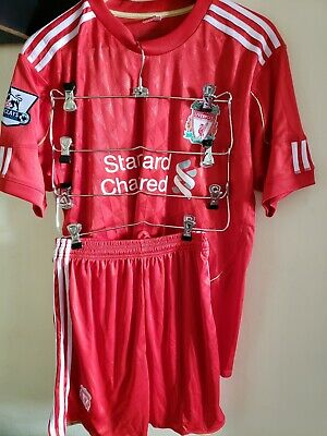 Liverpool Football Club Soccer Football set Jersey with shorts, Size Large