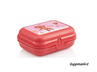 TUPPERWARE Oyster Storage Box Special Offer Coral