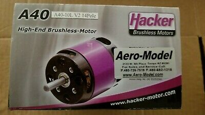HACKER MOTOR A50-12 L V3 Brushless Motor in Great Condition