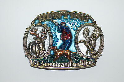 The Great American Buckle Co. - Hunting, No. 1817 - Copyright 1986
