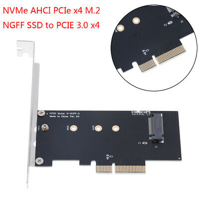 NVMe AHCI PCIe x4 M.2 NGFF SSD to PCIE 3.0 x4 converter adapter RDUK