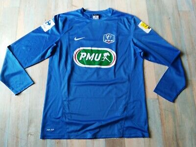 Maillot Foot Nike Coupe De France Fff Pmu N°12 Ca Taille/L/D6 Tbe