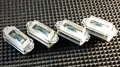 EDGE PANEL METERS 0.2mA fsd  NEW 35mm X 15mm PANEL CUT-OUT. (Qty: 4-off)