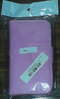 Book Wallet Flip Leather Case Cover Pouch For Samsung Galaxy Trend Plus S7580