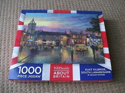 WH Smith Jigsaw - East Kilbride, South Lanarkshire -  1000 Pieces