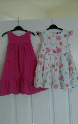 Girls Dresses Bundle Next,George,F&F 2-3 Years