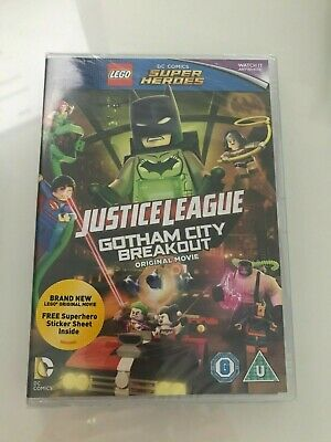 LEGO DC Justice League: Gotham City Breakout [2016] (DVD)