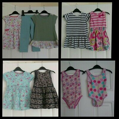 Girls Outfits,dresses,swimming suits Bundle Next,TU 2-3 Years