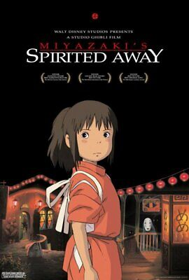 SPIRITED AWAY orig DS movie poster AUTHENTIC one sheet Disney's Ponyo Totoro