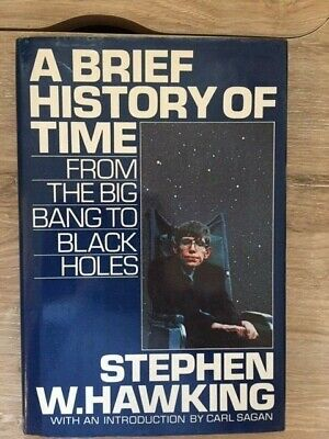 Stephen W. Hawking. A Brief History of Time...[1st Edition]
