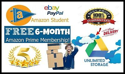 Email Edu Instant Amazon Prime Unlimited Google Drive Office 356 Student gmail
