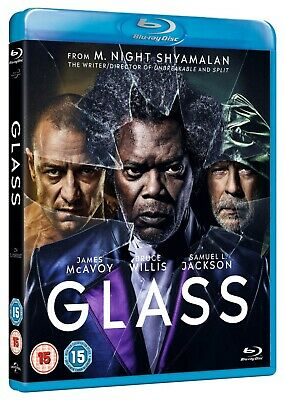 📽️ Glass - Blu-ray - Samuel L. Jackson / James McAvoy / Bruce Willis 🆕