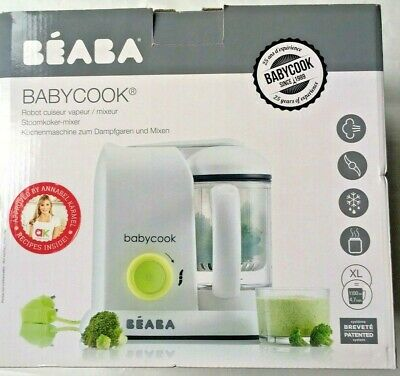 Beaba Babycook 4 in 1 Baby Food Maker Steam Cooker & Blender in One Brand New