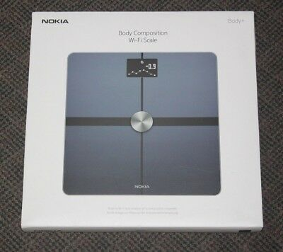 NEW Nokia - Body+ Body Composition Weight BMI Wi-Fi Scale New in Box