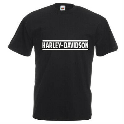 Harley Davidson printed T-Shirt. Various sizes and colours, motorbike, chopper,
