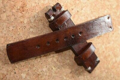 18mm.20mm.22mm.24mm Handmade Vintage  European  Leather Strap Band Nice Quality