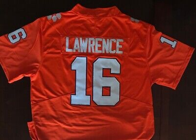 f71a2004569 TREVOR LAWRENCE CLEMSON Tigers 2018 Cotton Bowl Patch Jersey All ...