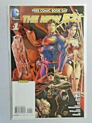 The New 52 #1 FCBD Free Comic Book Day 8.0 VF (2012)