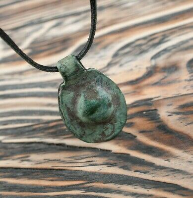 Rare Ancient Artifact Goths Amulet 2nd-4th Century Barbarian Pendant Pagan Relic