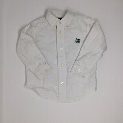 Chaps Ralph Lauren Boys 24M Button Down Shirt EUC
