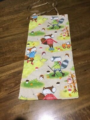 Baby Nappy Stacker---Woodlands Friends——-Also, as a Hand Towel Holder  (T2)
