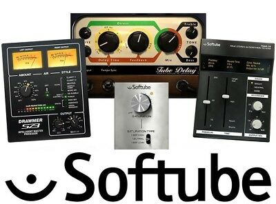 Softube Plug-ins Time & Tone Bundle Drawmer S73 Tube Delay TSAR-1R, S Knob VST