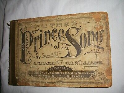FRANKLIN SQUARE SONG COLLECTION No 1 1881 SONGS HYMNS McCASKEY
