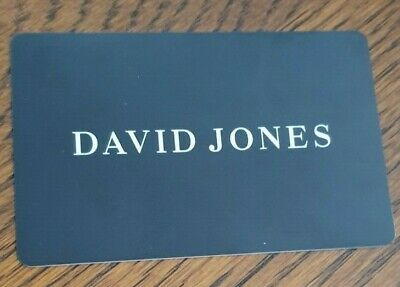 $100 David Jones Gift Card (Physical Gift Card) AUS Seller.
