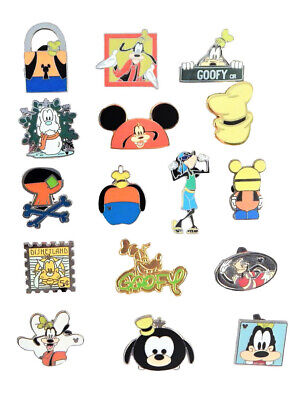Goofy Themed 5 Disney Trading Park Pins Set ~ Randomly Assorted ~ Brand NEW