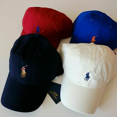 Polo Ralph Lauren Classic Cotton Chino Sports Cap Pony Hat