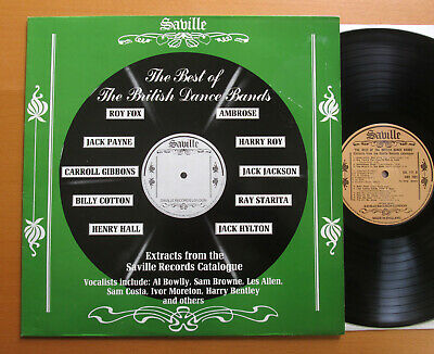 The Best Of The British Dance Bands Ambrose Roy Fox etc NM/EX Saville SVL 177