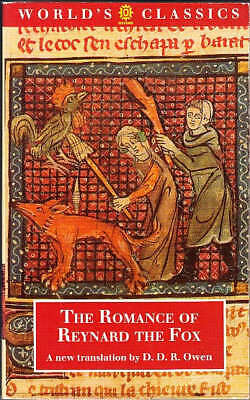 The Romance of Reynard the Fox by Anonymous (Paperback, 1994) D. D. R. Owen/ OUP