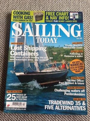 Sailing Today Magazine Issue 84 April 2004 Tradewind 35
