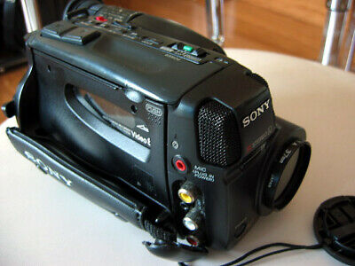 Faulty SONY CCD-TR305E Camcorder Handycam 8mm Video Camera