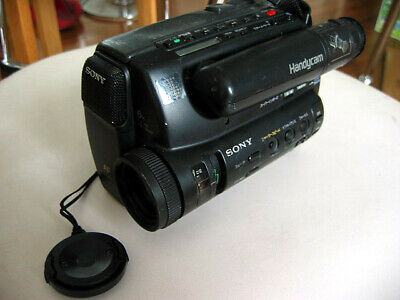 Faulty SONY NTSC CCD-TR55 Camcorder Handycam 8mm Video 8 Camera
