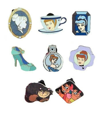 Cinderella Themed 5 Disney Park Trading Pins ~ Brand NEW