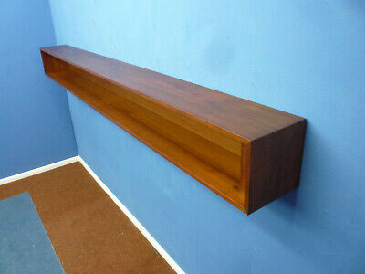 Mid-Century Teak Wall Shelf Wand Regal 50er Jahre 50s