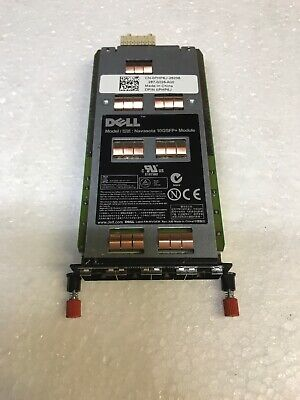 Dell Power Connect Quad Port Adapter Pc 8100-10Gsfp-R Php6J Computer