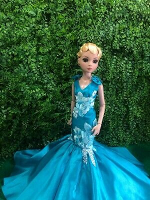 """Gown Outfit Dress doll  for 16"""" Poppy Parker Tyler Tonner Ellowyne"""