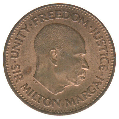 Sierra Leone 1/2 Cent 1964 A37108