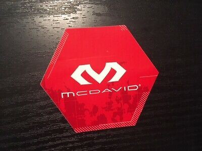 McDavid Football Sports Equipment and Accessories Sticker Decal